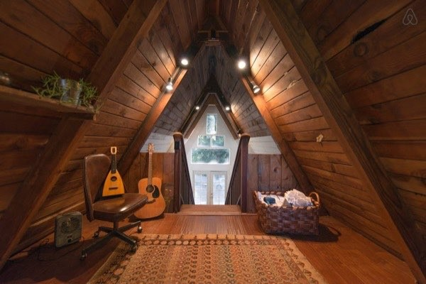 a-frame-upstairs-interior
