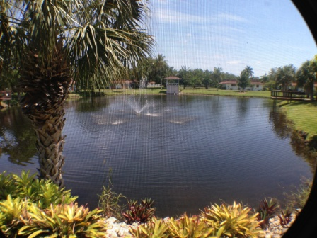 Water View from Kitchen and Lanai and Master bedroom...