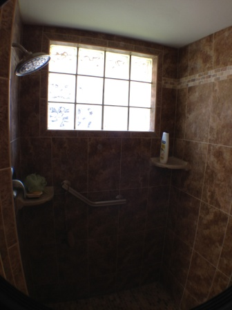 Guest Shower...Very nice finishes!!!