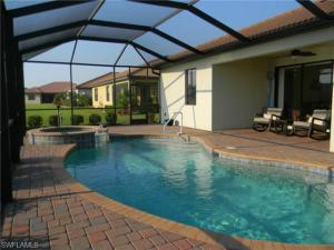 Pool and Spa in Fort Myers Real Estate