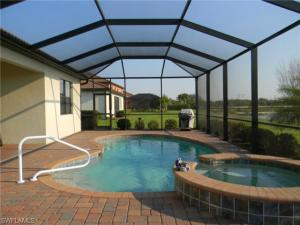Pool at Home for Sale in Hampton Park Gated Community