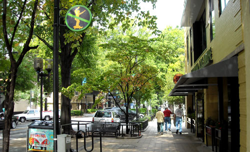 Downtown Greenville Main St